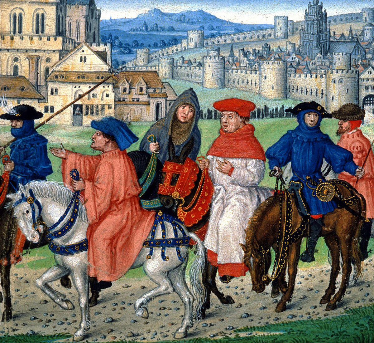 Prologue to Canterbury Tales - Geoffrey Chaucer Case Study